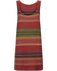 Ralph Lauren Blue Label - Knit Tank Dress - Lyst