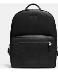COACH | Hudson Backpack In Crossgrain Leather | Lyst