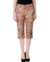 Jil Sander 3/4-Length Short multicolor - Lyst