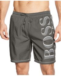 Hugo Boss Boss Killi Fish Swim Trunk - Lyst