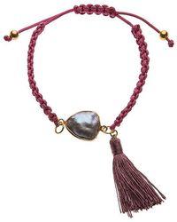 Ashiana - Purple Friendship Bracelet - Lyst