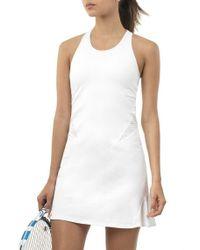 6b2286c0e1b3 Jesse Kamm The Slip Dress in White - Lyst