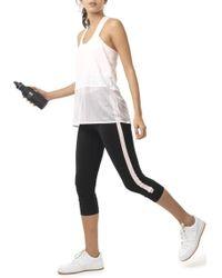 Monreal - Cropped Athlete Leggings - Lyst