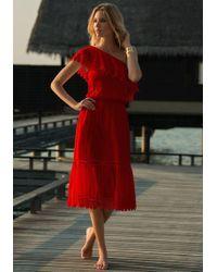 Melissa Odabash - Jo Dress Red - Lyst