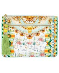 Camilla - Sundowners Clutch - Lyst