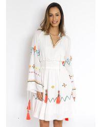 Hemant & Nandita - Short Lucent Dress - Lyst