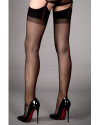 Seamed stockings images