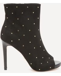 Bebe - Claudiah Studded Booties - Lyst