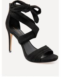 Bebe - Lena Wrap Sandals - Lyst