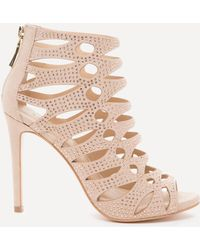 Bebe - Natashaa Studded Sandals - Lyst