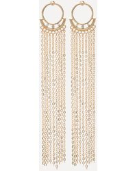 Bebe - Chain Duster Earrings - Lyst