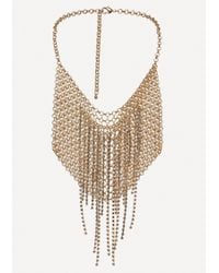Bebe | Chainmail Bib Necklace | Lyst
