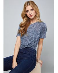 Bebe - Stephanie Knot Top - Lyst
