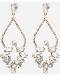 Bebe - Mini Chandelier Earrings - Lyst