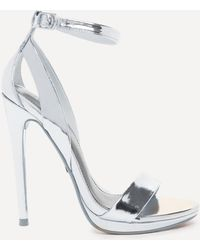 Bebe - Selina High Shine Sandals - Lyst