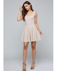 Bebe - Leilani Fit & Flare Dress - Lyst