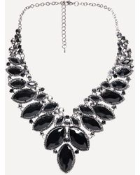 Bebe - Ornate Statement Necklace - Lyst