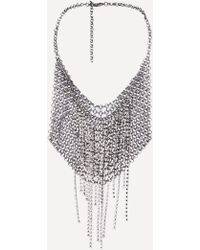 Bebe - Chainmail Bib Necklace - Lyst