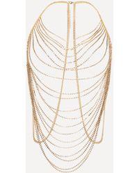 Bebe - Rhinestone Body Chain - Lyst