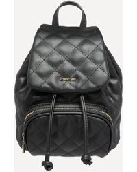 Bebe - Quilted Mini Backpack - Lyst