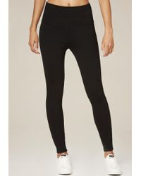 Bebe - High Waist Zip Leggings - Lyst