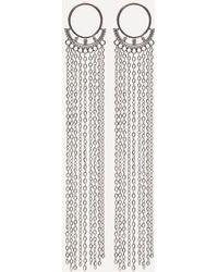 Bebe - Chain Duster Earrings - Lyst