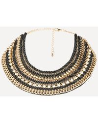 Bebe - Chain Collar Necklace - Lyst