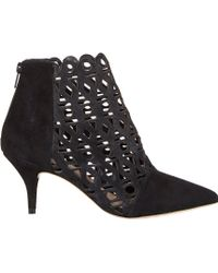 Loeffler Randall Lasercut Rashida Boots - Lyst