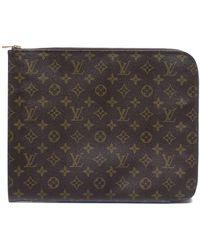 Louis Vuitton Pre-owned Vintage Poche Documents Briefcase - Lyst