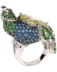 Noir Jewelry Ring - Lyst