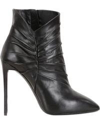 Giuseppe Zanotti 115Mm Leather Ankle Boots - Lyst