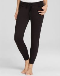 Hue - Chill French Terry Knit Capri Trousers - Lyst