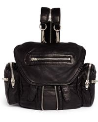 Alexander Wang 'Marti' Mini Washed Leather Backpack - Lyst