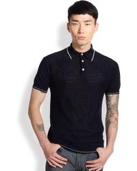 Atelier Scotch Cotton Polo Shirt - Lyst