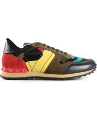 Valentino Multicolor Rockrunner Sneakers - Lyst