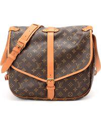 Louis Vuitton Monogram Saumur 35 Shoulder Bag - Lyst