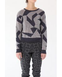 Micaela Greg - Jigsaw Sweater - Lyst