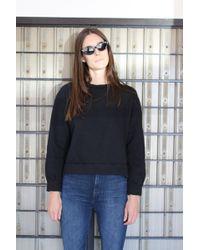 Beklina - Live-in Sweatshirt Black - Lyst