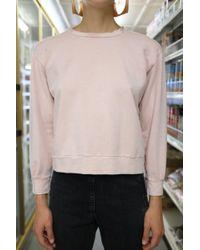 Beklina - Live-in Sweatshirt Washed Pastel - Lyst