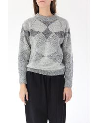 Micaela Greg - Fractured Pullover Sweater - Lyst