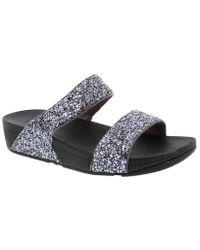 Fitflop - Glitterball Slide Slip On Sandals - Lyst