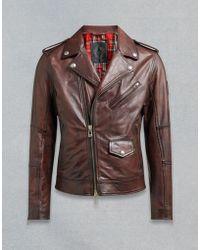 Belstaff - Sidmouth Biker Jacket - Lyst