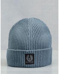 Belstaff - Seabrook Knitted Hat - Lyst