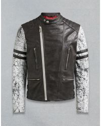 Belstaff - Ennis Biker Jacket - Lyst