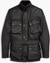 Belstaff - Classic Tourist Trophy 4-pocket Motorcycle Jacket - Lyst