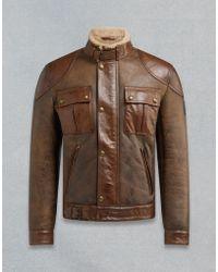 Belstaff - Gangster Aw18 Jacket - Lyst