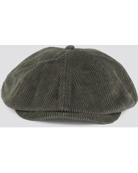 192dc370 J By Jasper Conran Olive Train Driver Hat With Wool in Green for Men ...