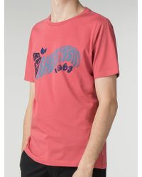 Ben Sherman - Pink Experience T-shirt - Lyst