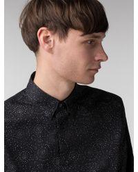 Ben Sherman - Long Sleeve Psychedelic Pindot Shirt - Lyst