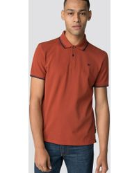 Ben Sherman - Rust Brown Romford Polo Shirt - Lyst